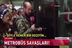 Metrobüsü Komando Kılığıyla Trollemek
