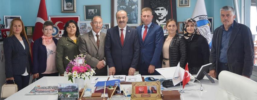 MHP Mudanya İlçe'den Türkyılmaz'a ziyaret