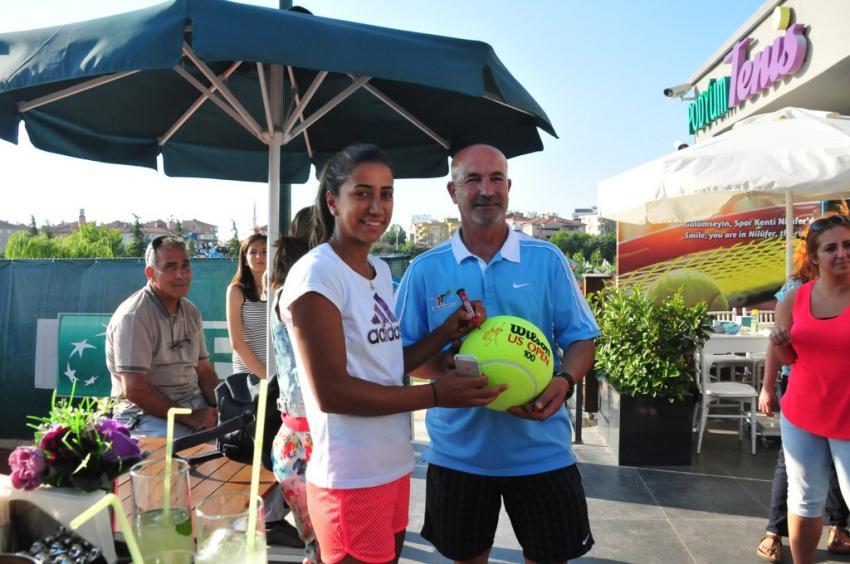 Bursa Cup ITF kadınlar turnuvası başladı