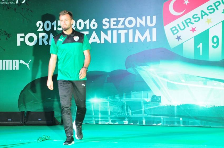 İşte Bursaspor'un yeni formaları