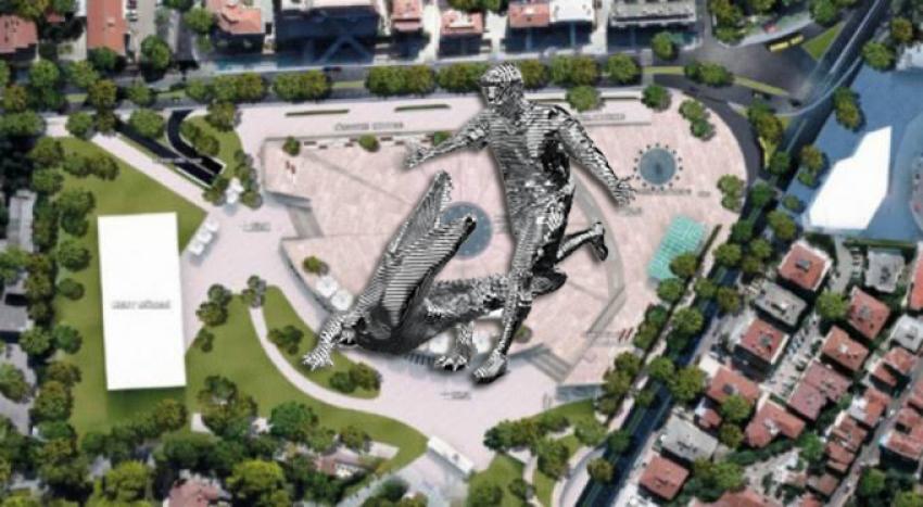 Batalla'nın heykeli Atatürk Stadı'na!