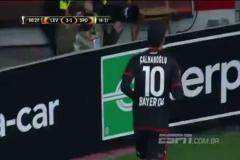 Milli futbocumuz Hakan Çalhanoğlu'nun muhteşem golü