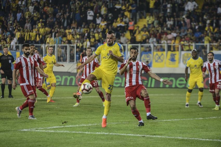 MKE Ankaragücü - Demir Grup Sivasspor: 3-1