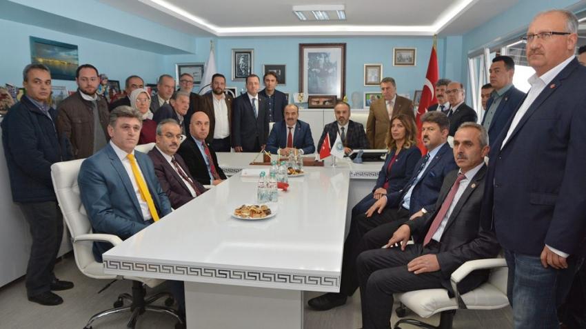 """Mudanya ve Büyükşehir'den """"işbirliği"""" vurgusu"""