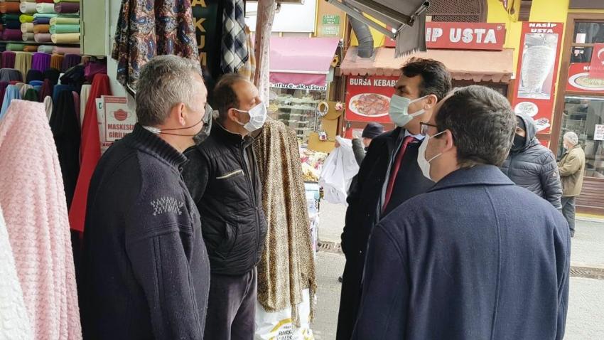 Osmangazi'de yerinde yönetim yerinde hizmet