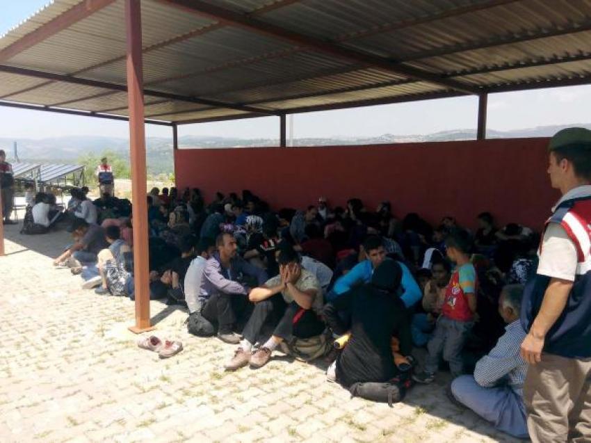 Yunanistan'a kaçmak isteyen 118 mülteci yakalandı!