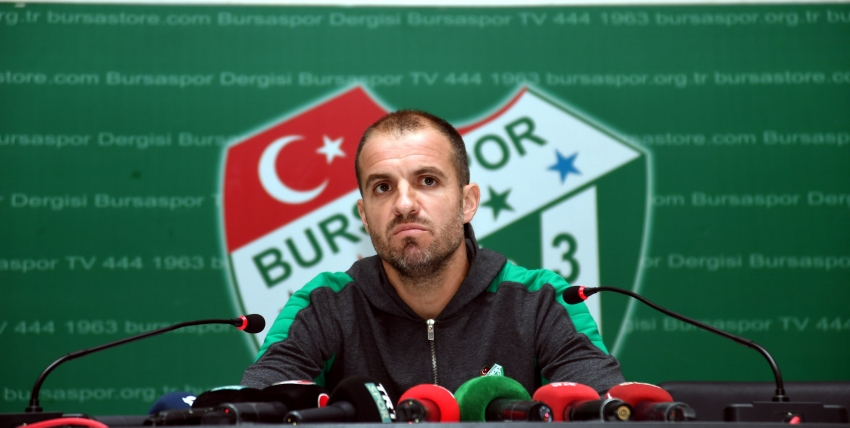 Bursaspor'da şok istifa!