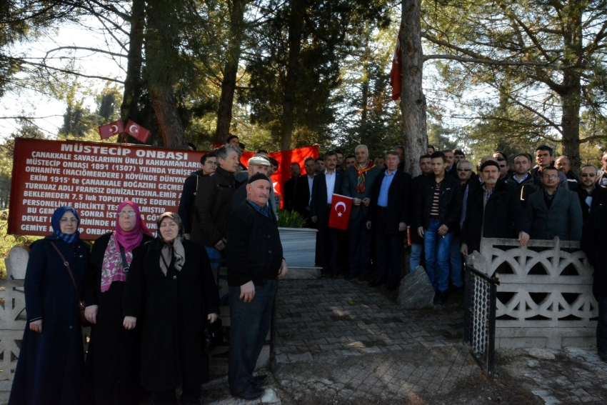Yörükler Müstecip Onbaşı'yı mezarı başında andı