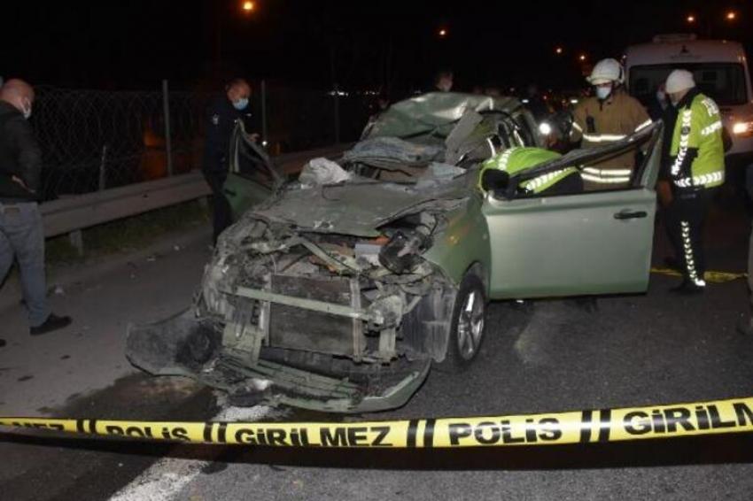 Otomobil sürücüsü hayatını kaybetti