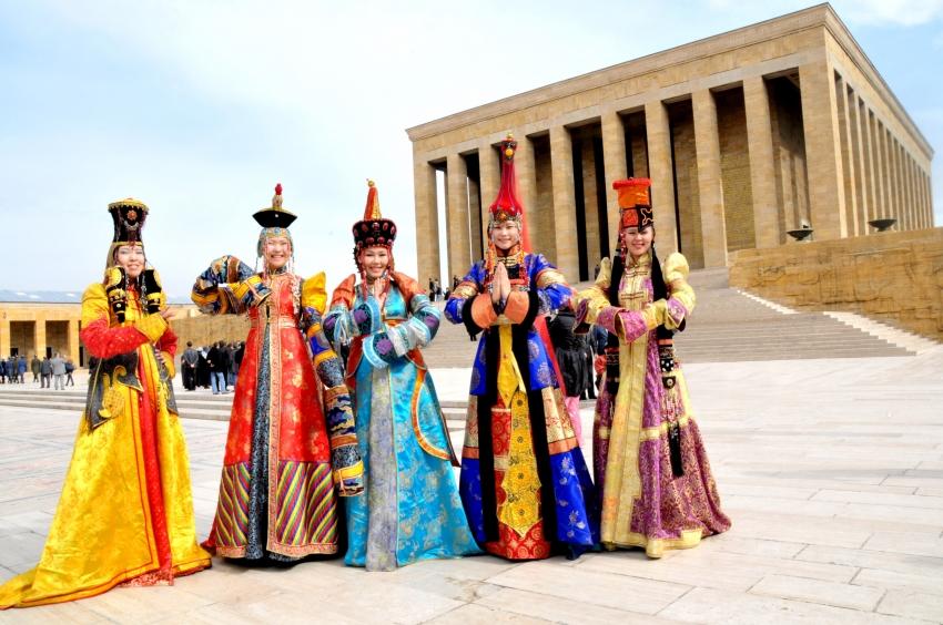 Türk dünyası, Nevruz kutlamalarında Türkistan'da