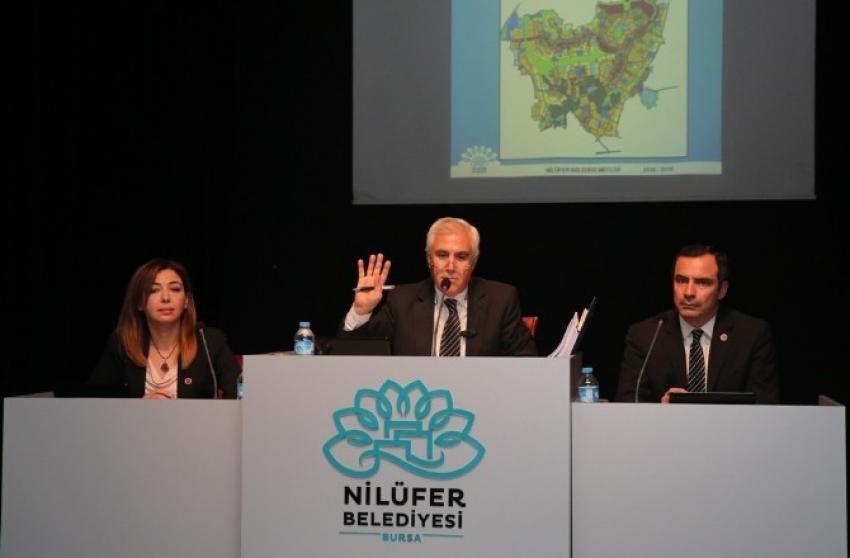 Nilüfer Belediye Meclisi'nde istifa depremi...