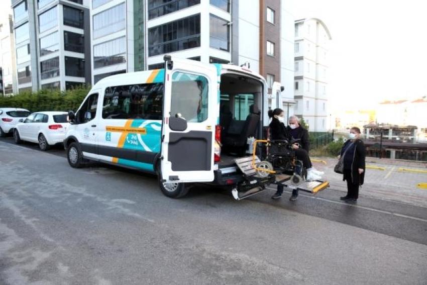 Nilüfer Belediyesi'nden sınav günü engelsiz ulaşım