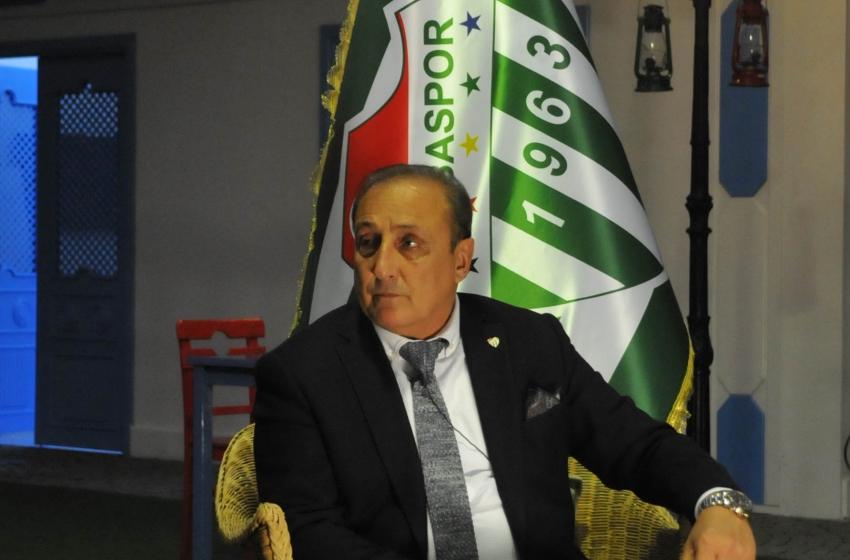 Timur Noyan'dan Bursaspor açıklaması!