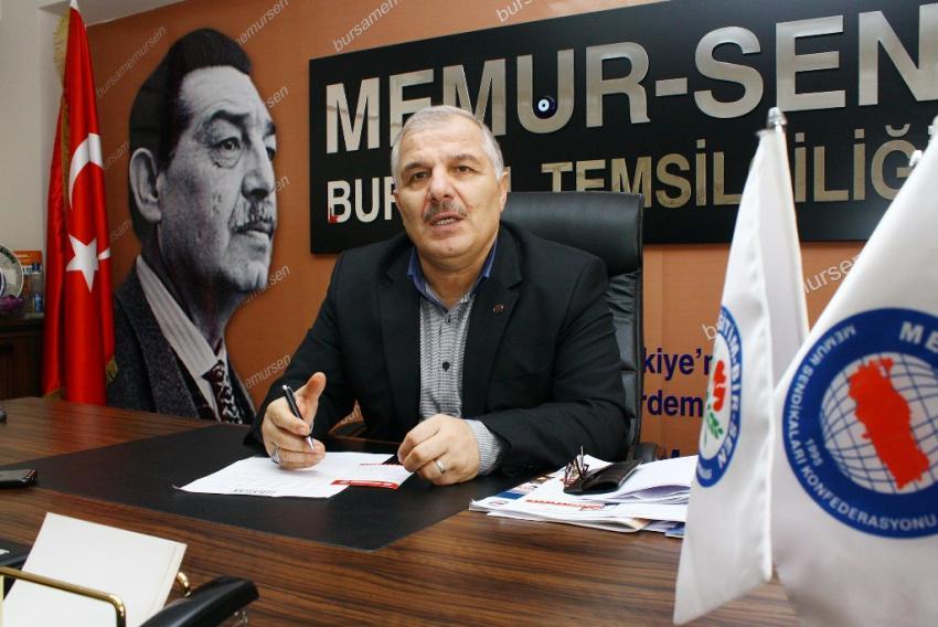 Memur-Sen Bursa İl Temsilciliği 27 Mayıs darbesini kınadı