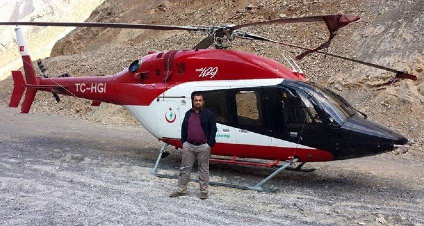 O helikopter sosyal medyayı salladı