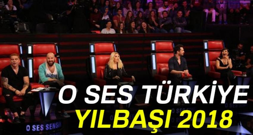 O Ses Türkiye yılbaşına kimler katılıyor?