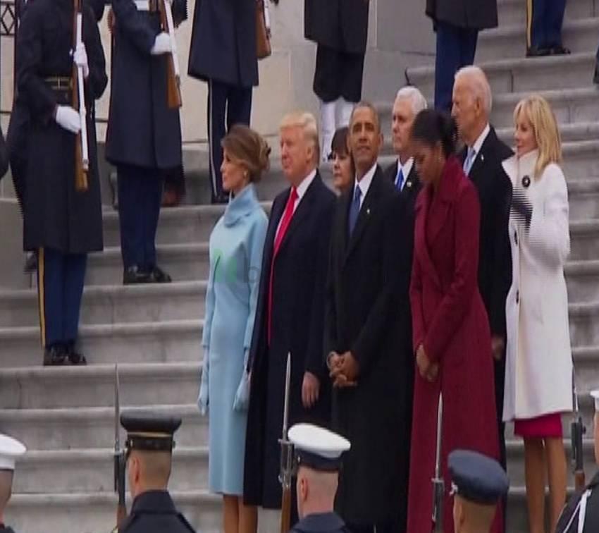 Obama, Kongre Binası'ndan ayrıldı