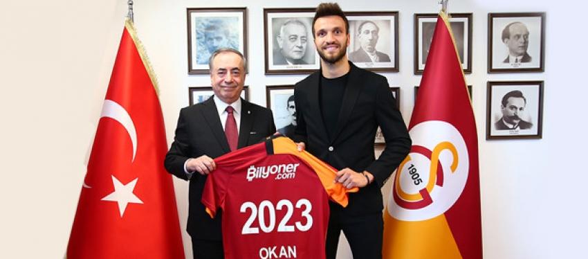 Okan resmen Galatasaray'da!
