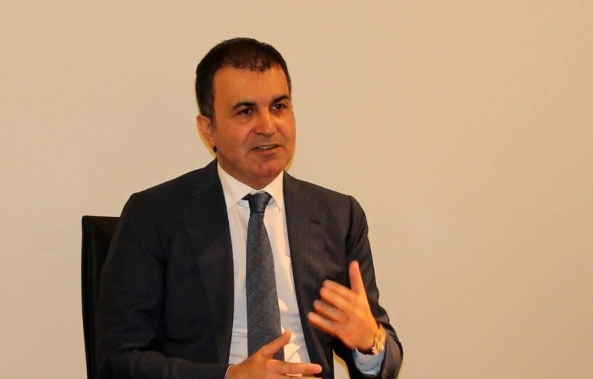 """Ömer Çelik: """"İstanbul'daki saldırıları kınıyor, lanetliyoruz"""""""