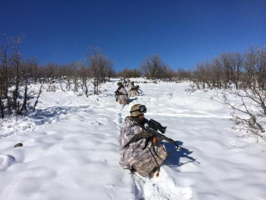 Eksi 18 derecede PKK'ya operasyon!