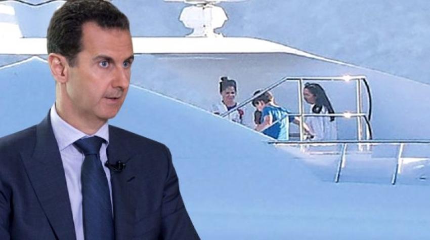 Esad'ın kızı Türkiye'de tatilde!