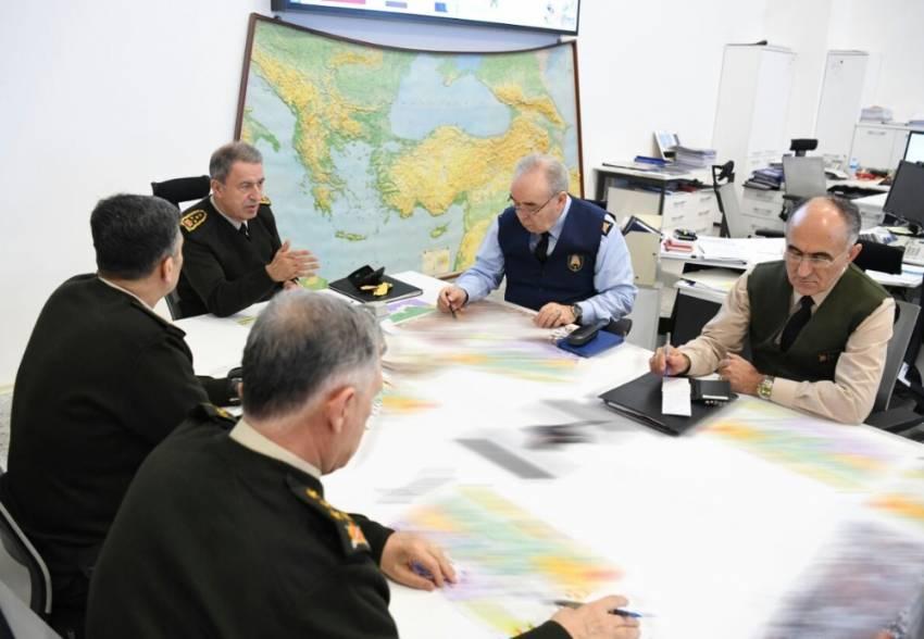 Orgeneral Akar ve kuvvet komutanlarından kritik toplantı