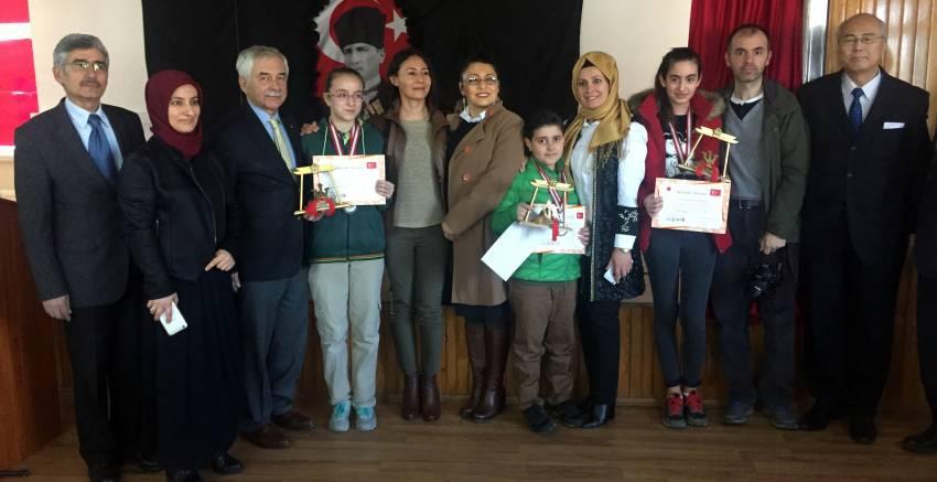 Origami yarışması ödülleri sahiplerini buldu