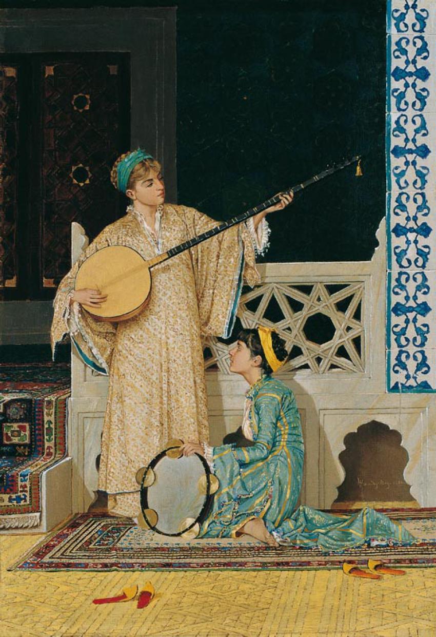 Kadın figürlü ünlü Türk tabloları
