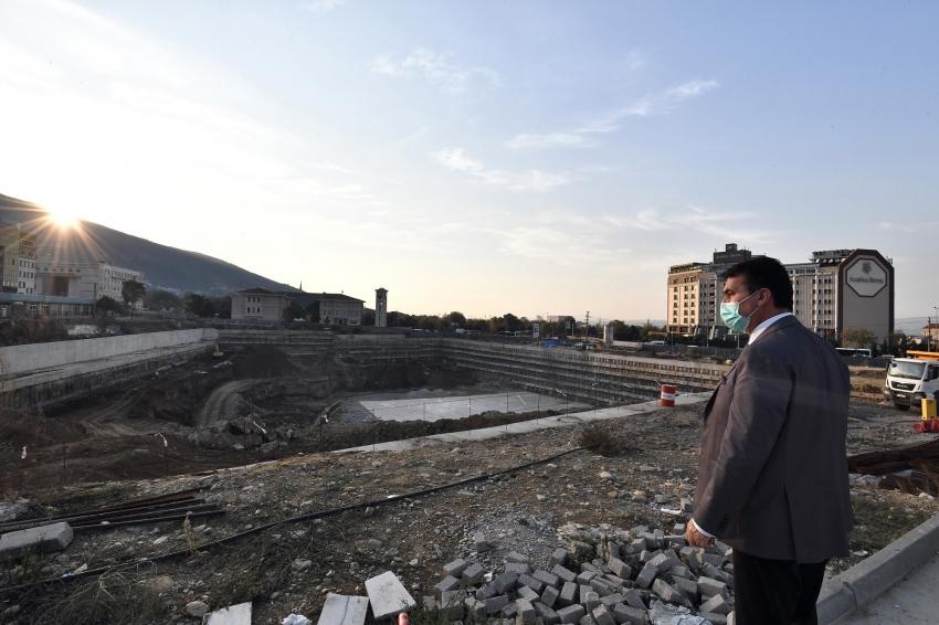 Bursa'nın En Büyük Meydanı Temel İçin Hazır