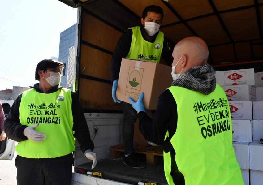 Osmangazi'de Sosyal Destek 800 Bini Geçti