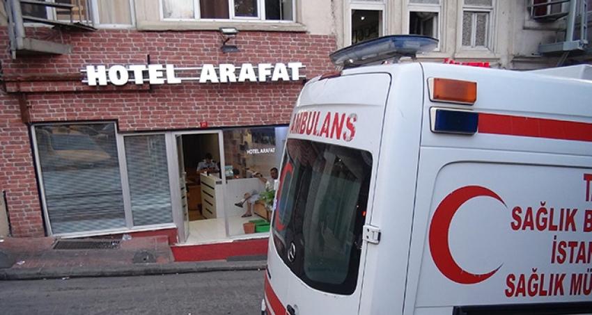 Beyoğlu'nda yaşlı adam otel odasında ölü bulundu