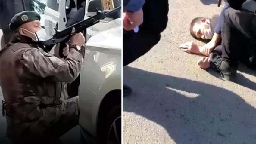 Bir polisimizi şehit eden katilin cenazesini, memleketine götürecek araç bulunamadı