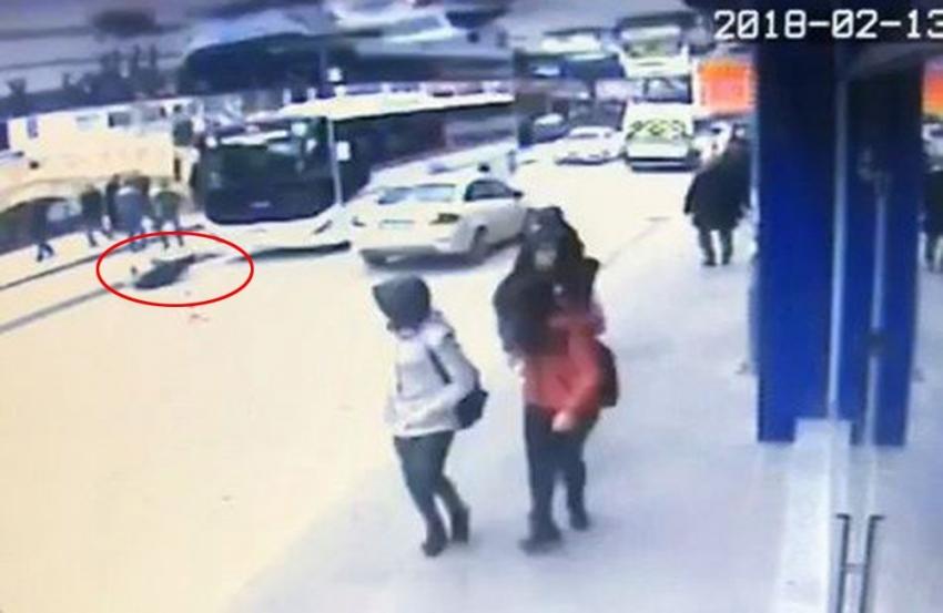 Otobüsün çarptığı yaya hayatını kaybetti