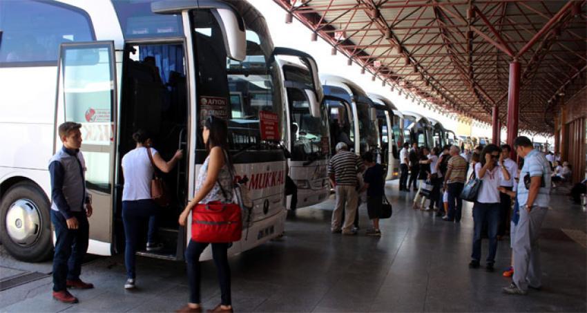 Otobüs firmalarına bayram erken geldi
