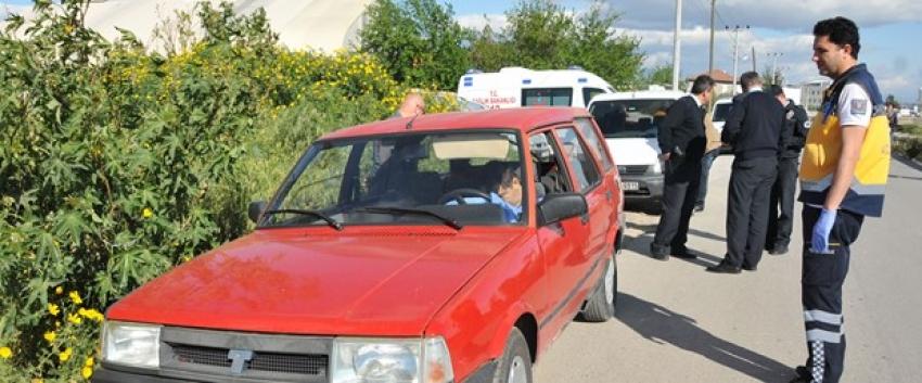Otomobilde ceset bulundu