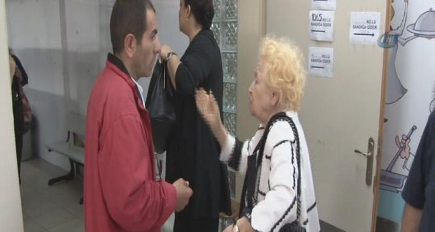 89 yaşındaki kadın oy kullanmaya geç kalınca...
