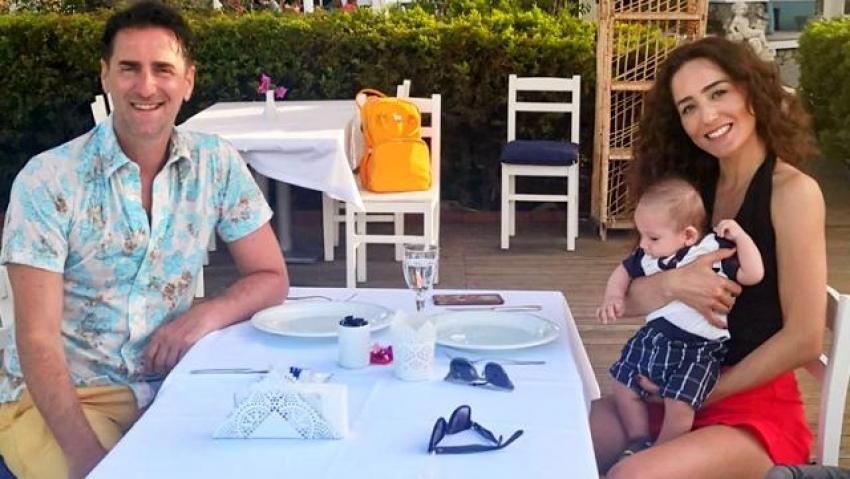 Ünlü oyuncu, eşi ve 8 aylık bebeği ile virüse yakalandı