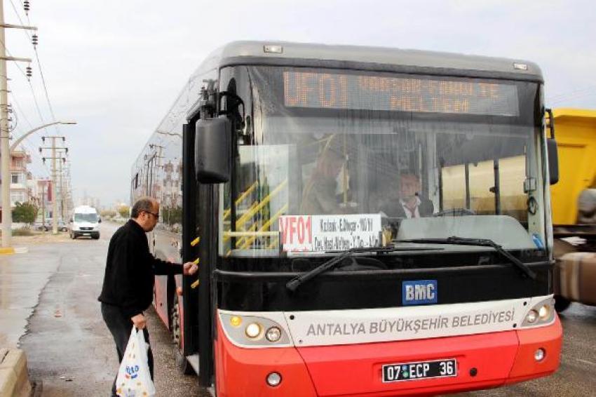 Toplu taşımada Özgecan yönetmeliği'!