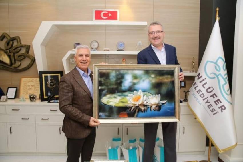 Özkan'dan Bozbey'e ziyaret