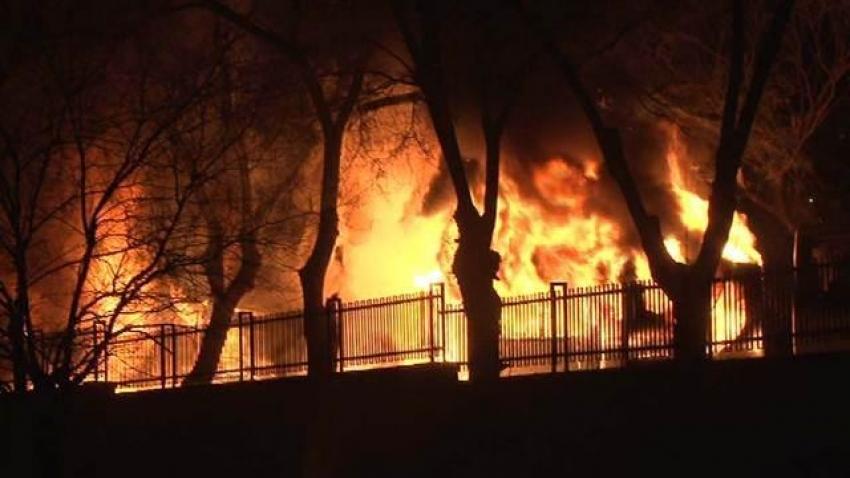 Ankara'da büyük patlama! Askeri araca saldırı!