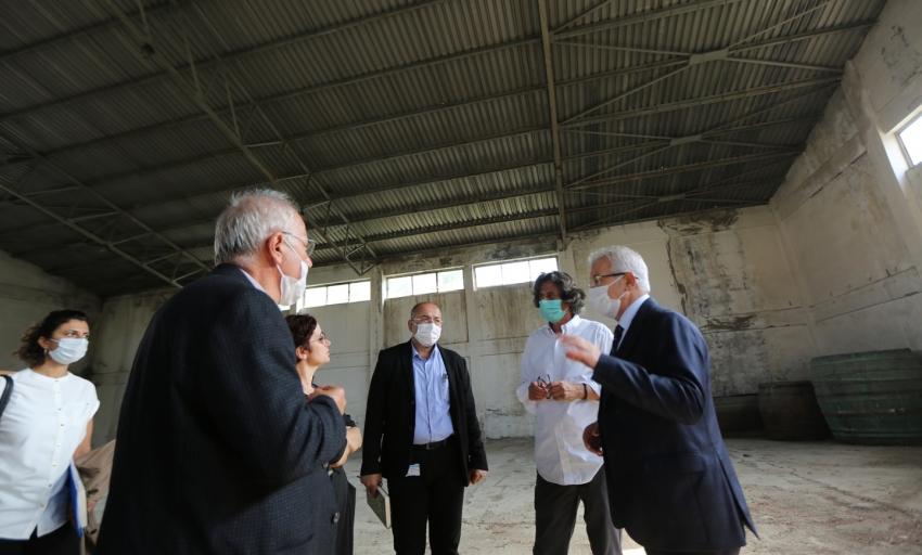 Nilüfer'de pancar deposu ortak akılla hizmete sunulacak