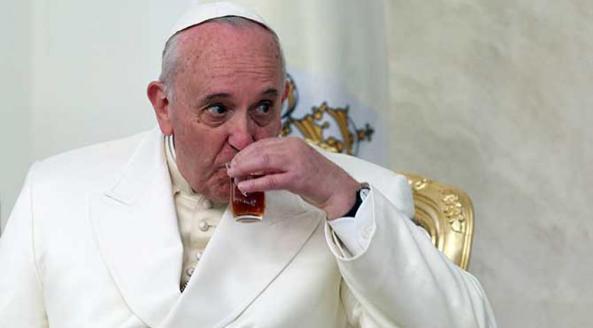 Papa bakın ne çağrısı yaptı