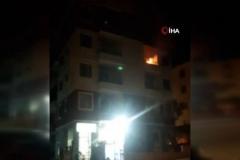 Patlayan tüp yangın çıkardı