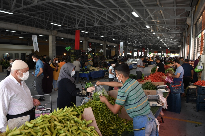 Osmangazi'de semt pazarları modern tesislere taşınıyor