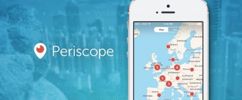 Periscope'ta yeni dönem