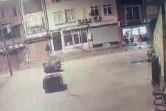 Pidecideki silahlı saldırı kamerada