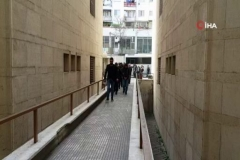 PKK sempatizanları adliyeye sırıtarak girdi