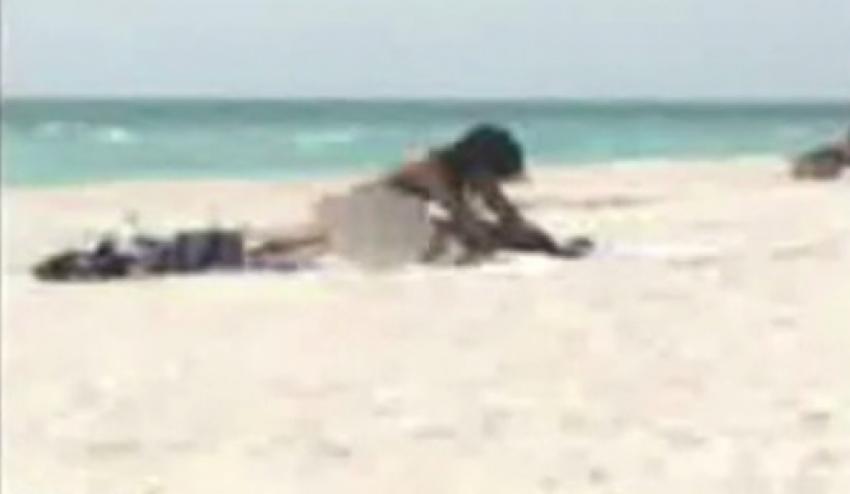Plajda seksin cezası ağır oldu