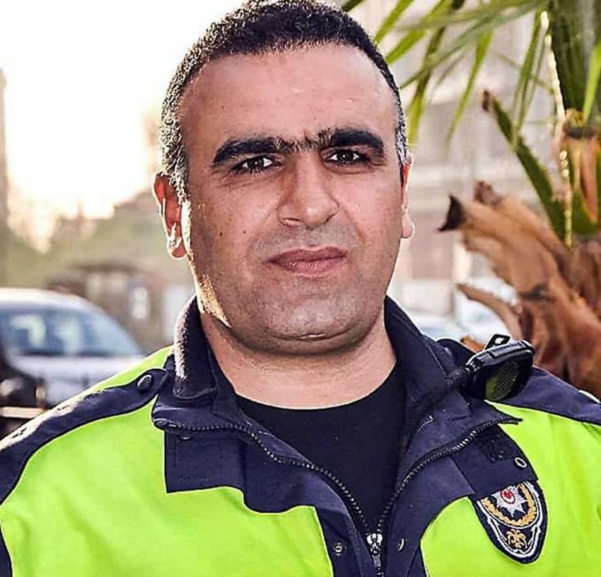 Kahraman polis son nefesinde bile kendisini düşünmemiş