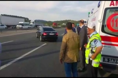 Polis memeru trafik kazasında şehit oldu